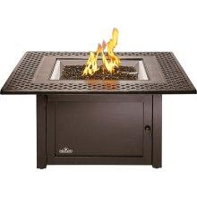 Kensington Square Patioflame® Table , Bronze , Propane