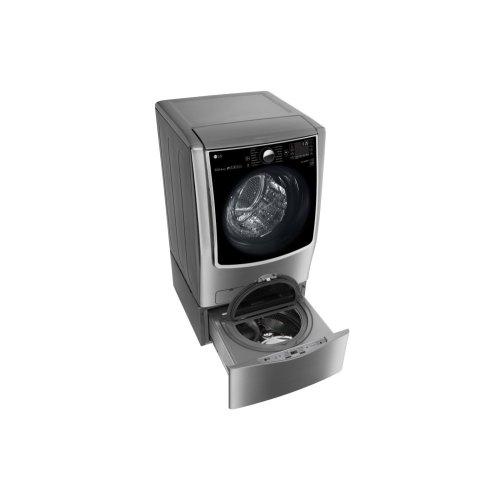 5.5 Total Capacity LG TWINWash System with LG SideKick