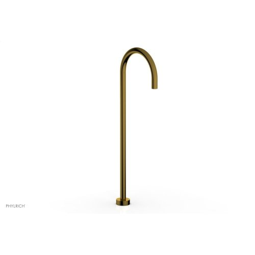 BASIC II Floor Mount Spout 230-52 - French Brass