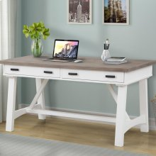 Americana Modern Cotton 60 in. Writing Desk