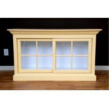 """#460 Small Currahee Bookcase 54""""wx18.5""""dx28""""h"""
