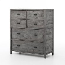 Caminito 6 Drawer Tallboy-washed Grey