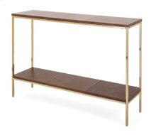 NK Leather Console Table
