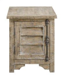 Emerald Home Interlude Chairside Table-sandstone Finish T560-03