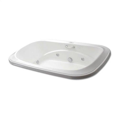 "Easy-Clean High Gloss Acrylic Surface, Oval, Whirlpool Bathtub, Signature Package, 42"" X 72"""