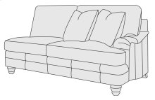 Tarleton Right Arm Loveseat in Brandy (703)