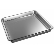 DGG 100 40 Unperforated steam oven pan for cooking food in gravy, stock, water (e.g. rice, pasta).