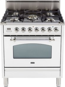 "True White - Nostalgie 30"" Gas Range"