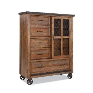 Bedroom - Taos Five Drawer Gentleman's Chest