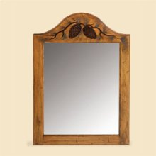 Large Pine Cone Mirror