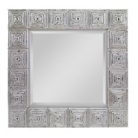 Silver Leaf Mirror (c415005) Product Image