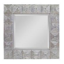 Silver Leaf Mirror (c415005)