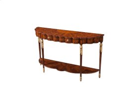 The Lobed Console Table