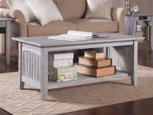 Nantucket Coffee Table Driftwood Grey