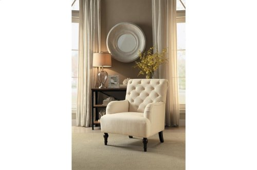 Accent Chair, Beige
