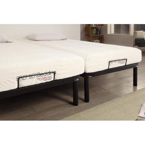 Stanhope Black Adjustable Full Bed Base
