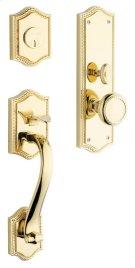 Lifetime Polished Brass Bristol Entrance Trim Product Image