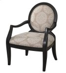 Batik Pearl Black Framed Chair Product Image