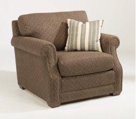 Coburn Fabric Chair with Nailhead Trim