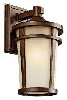 "Atwood 14.25""1 Light Wall Light Brownstone"