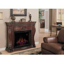 Lexington Wall Mantel with Firebox