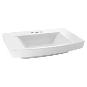 Townsend Above-Counter Bathroom Sink  4-inch Centers  American Standard - Linen