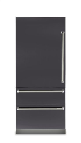 "36"" Fully Integrated Bottom-Freezer Refrigerator, Left Hinge/Right Handle"