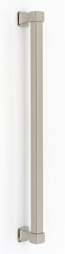 Cube Appliance Pull D985-18 - Polished Nickel