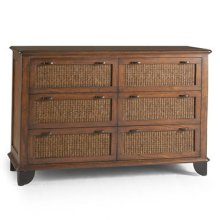 Newport 6-Drawer Dresser