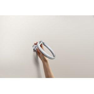 Kasey chrome towel ring
