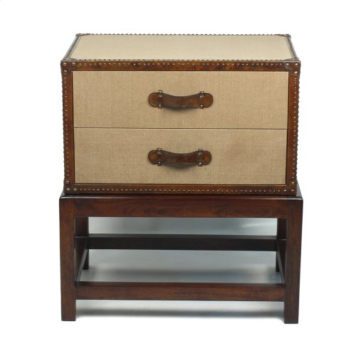 Beckham 2 Drawer Chest On Stand