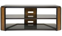 Natural Finish Wood & Dark Pewter A/V Furniture