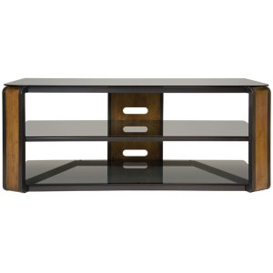 Bell'oNatural Finish Wood & Dark Pewter A/V Furniture