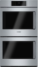 "Benchmark Series, 30"", Double Wall Oven, SS, EU conv./EU conv., TFT Touch Control, Left Swing Product Image"