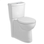 Studio Dual Flush Elongated Toilet - 1.1 GPF/1.6 GPF - White
