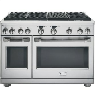 "48"" Pro Range - Dual Fuel with Grill"