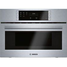 500 Series built-in microwave 27'' Stainless steel HMB57152UC