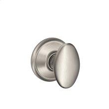 Siena Knob Hall & Closet Lock - Satin Nickel