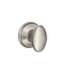 Siena Knob Hall & Closet Lock - Satin Nickel