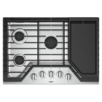 Whirlpool30-inch Gas Cooktop with Griddle