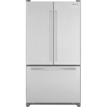 "Cabinet Depth French Door Refrigerator with Internal Dispenser, 69""(h), Euro-Style Stainless Handle"