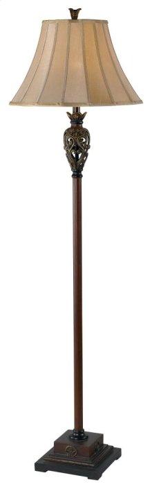 Iron Lace Floor Lamp