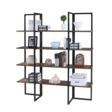 "Atari - Bookshelf 48"" W/4 Shelves Rta"