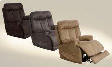 Power Headrest Power Lay Flat Recliner w/ Extended Ottoman