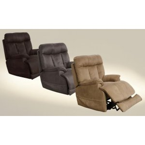 Power Headrest w/Lumbar Power Recliner w/ Extended Ottoman