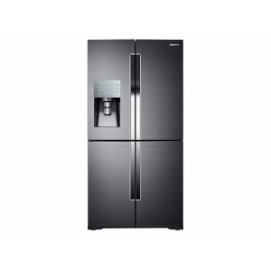 Samsung28 cu. ft. 4-Door Flex™ Refrigerator with FlexZone™ in Black Stainless Steel