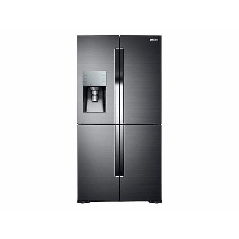 28 cu. ft. 4-Door Flex™ Refrigerator with FlexZone™ in Black Stainless Steel
