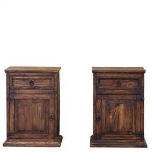 "Left : 22"" x 16"" x 30"" Medio Nightstands"