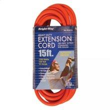 16/3 15 ft. Orange Extension Cord