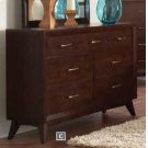 Carrington Mid-century Modern Seven-drawer Dresser Product Image